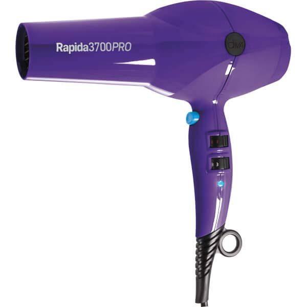 Diva Rapida 3700 Pro Hairdryer Periwinkle