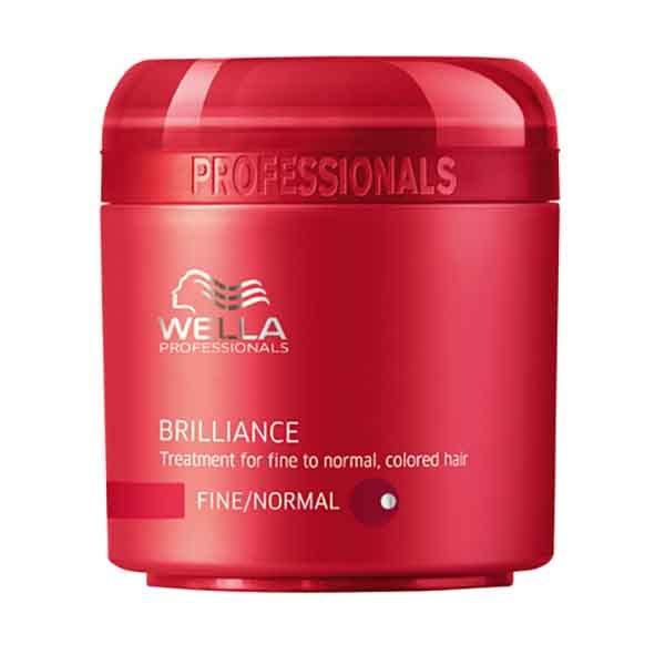 Wella Brilliance Hair Mask Fine Hair 500ml