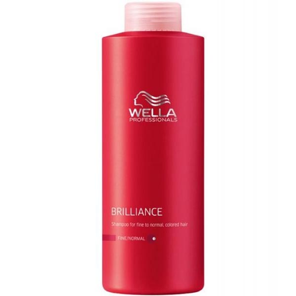 Wella brilliance shampoo fine hair the hair and beauty - Wella salon professional hair products ...