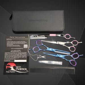 Apprentice scissor kit. Student scissors. Cosmetology school shears. Hair Shears.