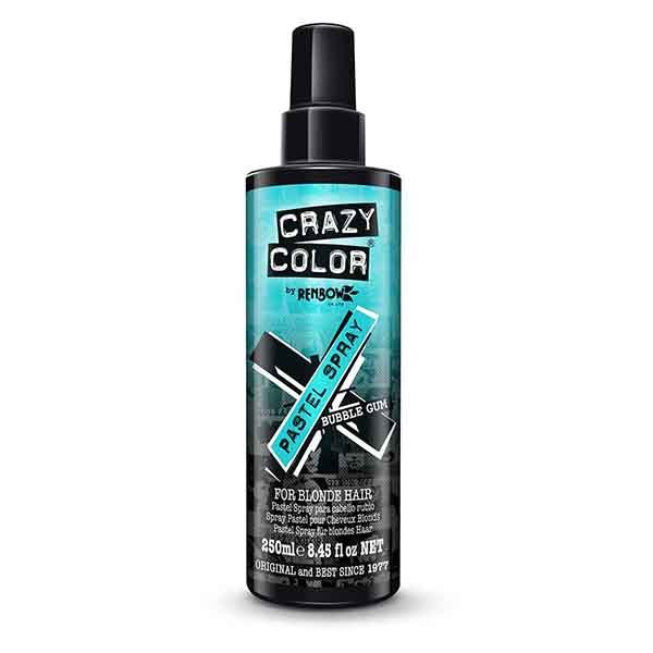 Crazy Color Pastel Spray Bubble Gum 250ml