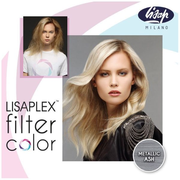 Lisaplex Filter Color Metallic Ash