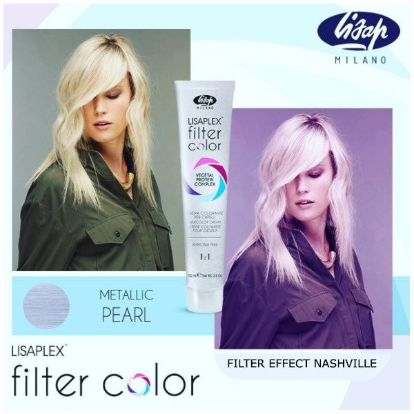 Lisaplex Filter Color Metallic Pearl