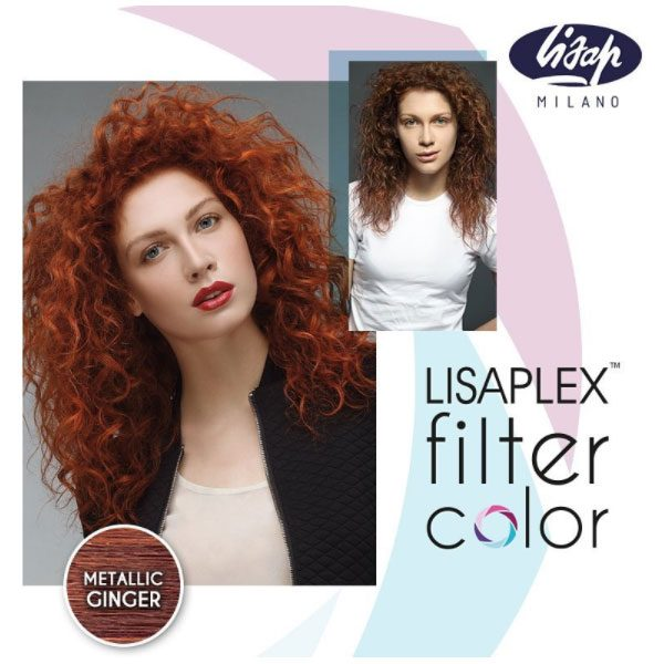 Lisaplex Filter Color Metallic Ginger