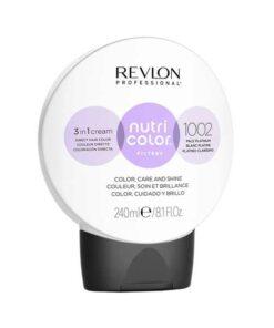 Revlon Nutri Color Creme 1002 White Platinum 240ml