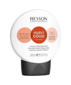 Revlon Nutri Color Creme 740 Light Copper 240ml