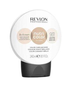 Revlon Nutri Color Creme 931 Light Beige 240ml