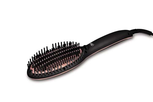 diva straight and smooth brush pro rose gold