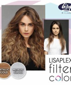 Lisaplex Filter Color Metallic Gold