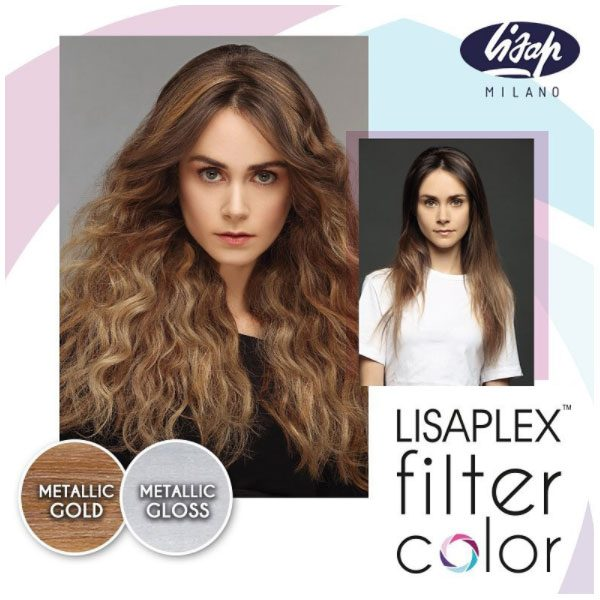 Lisaplex Filter Color Metallic Gold