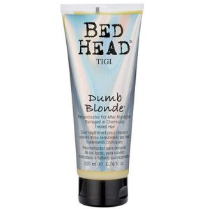tigi bed head dumb blonde reconstructor