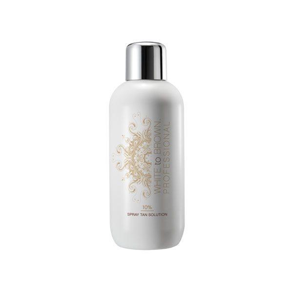 Whitetobrown 10% spray tan solution