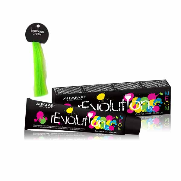 revolution neon schocking green