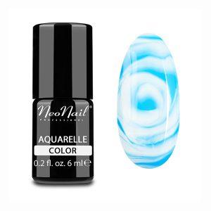 Aquarelle Effect Collection Blue