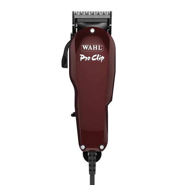 wahl pro clip clipper burgundy