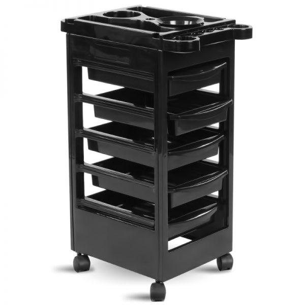 THBC Mila Hair Trolley Black 1