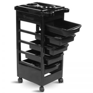 THBC Mila Hair Trolley Black 2