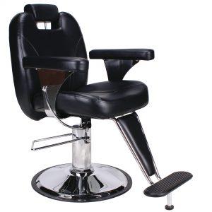 THBC Spartan Barber Chair Black0