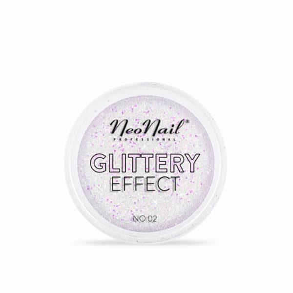 Neonail Glittery Effect Powder 02