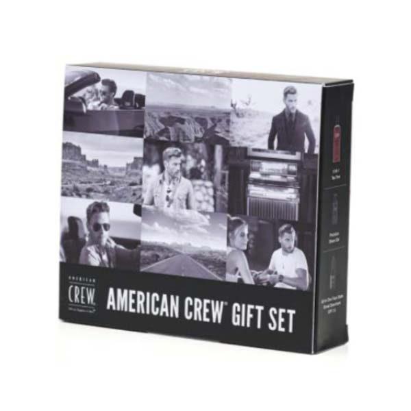 American Crew Gift Set box