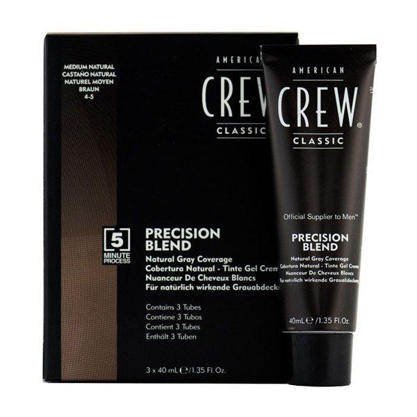 American Crew Precision Blend Grey Coverage Medium Natural