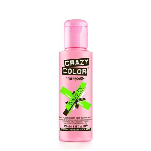 Crazy Color Toxic UV Semi Permanent Dye
