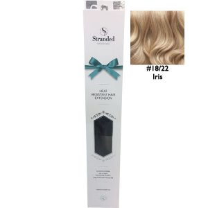 Stranded Hair Extensions 18 inch One Piece Curly 18 22