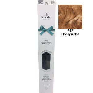 Stranded Hair Extensions 18 inch One Piece Curly 27