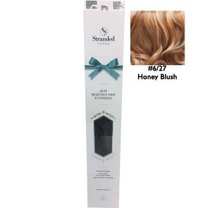 Stranded Hair Extensions 18 inch One Piece Curly 6 27