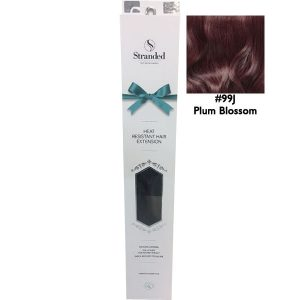 Stranded Hair Extensions 18 inch One Piece Curly 99j