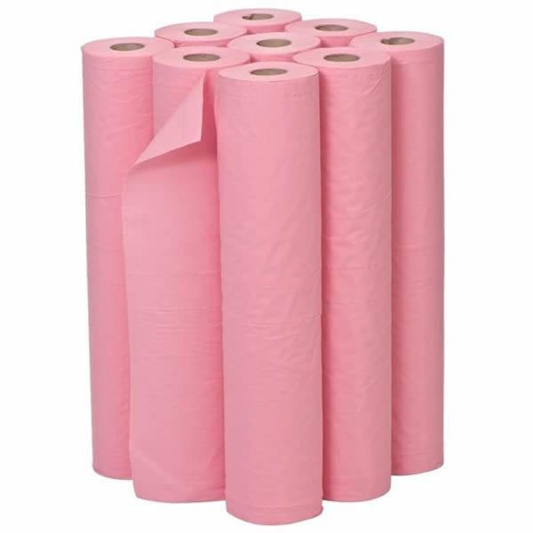Box of Pink 20 inch Couch Roll
