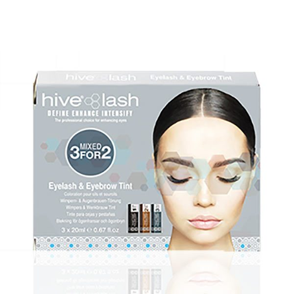 Hive Eyelash & Eyebrow Tint Pack
