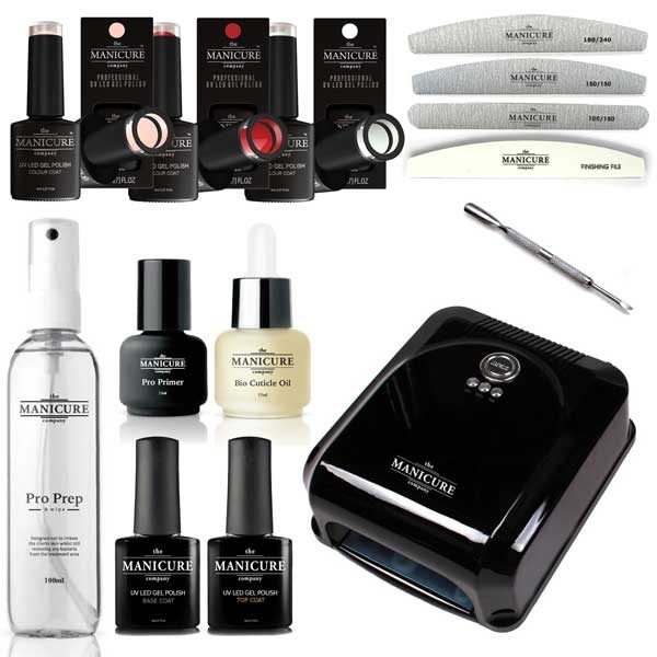 The Manicure Company Professional Gel Nail Polish Starter Kit | The ...