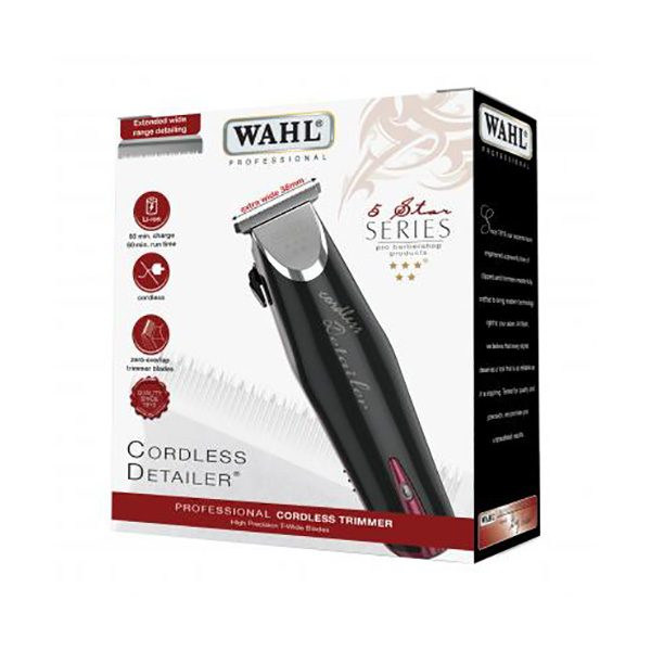 Wahl 5 Star Cordless Detailer Trimmer Box