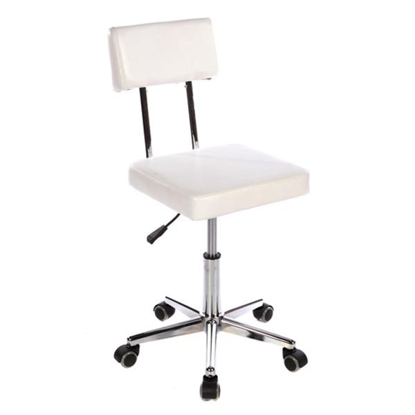 Crewe Orlando Reception Stool  White