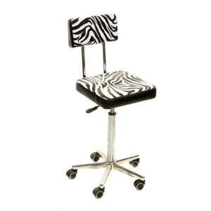 Crewe Orlando Reception Stool Zebra