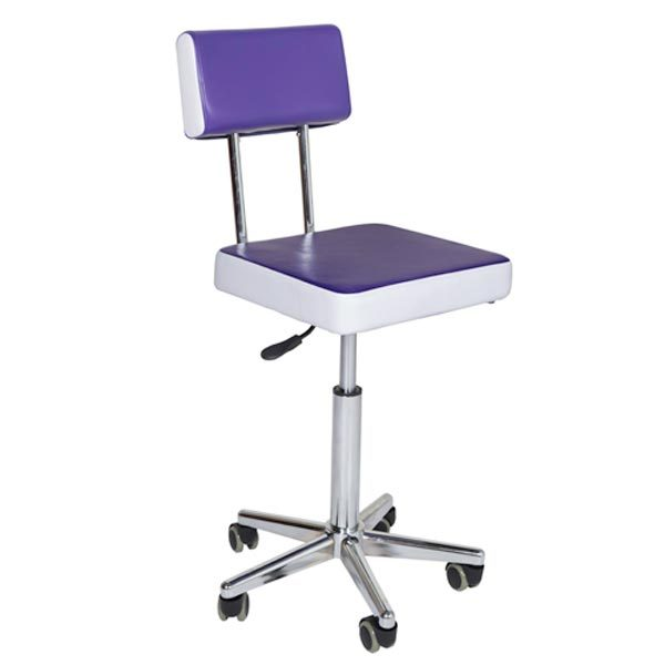 Crewe Orlando Reception Stool purple