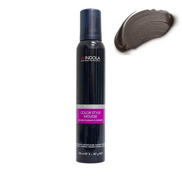 Indola Color Style Mousse Anthracite