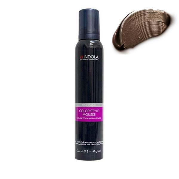 Indola Color Style Mousse Medium Brown