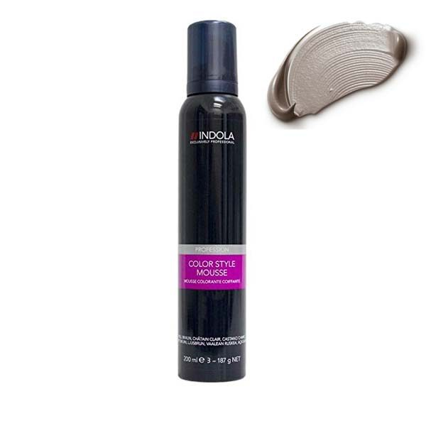 Indola Color Style Mousse Pearl Grey