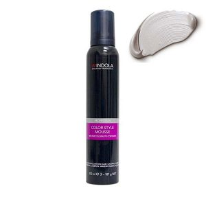 Indola Color Style Mousse Silver