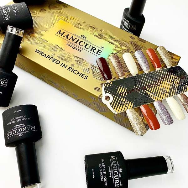 The Manicure Company Wrapped In Riches