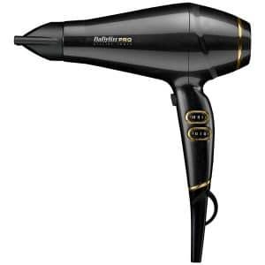 BaByliss PRO Keratin Lustre Hairdryer Black Shimmer