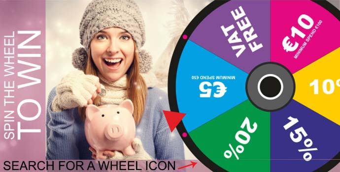 Spin the wheel to win big