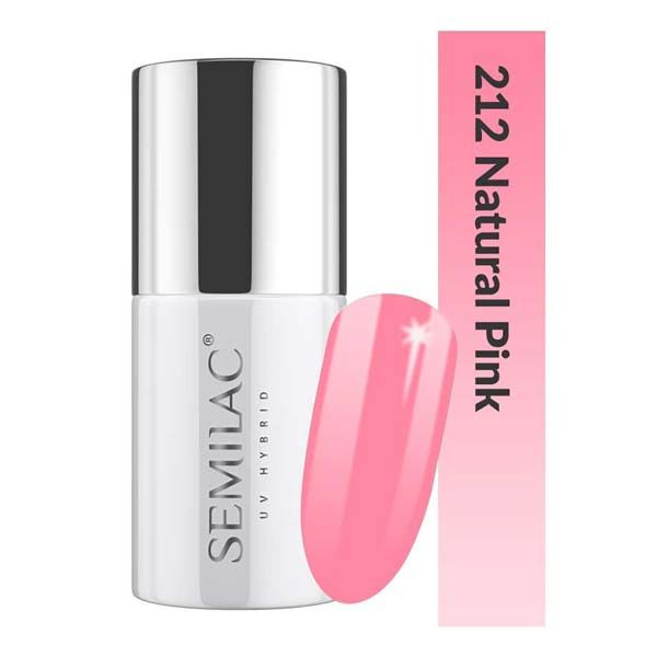 UV Hybrid Semilac Business Line 212 Natural Pink