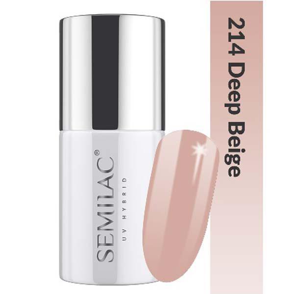UV Hybrid Semilac Business Line 214 Deep Beige