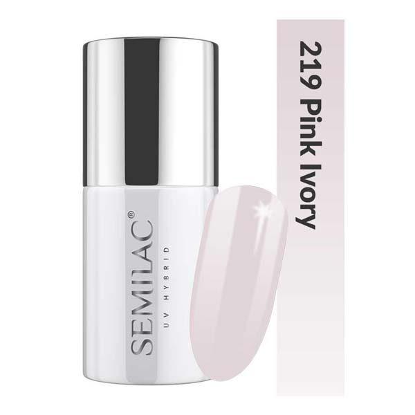 UV Hybrid Semilac Business Line 219 Pink Ivory