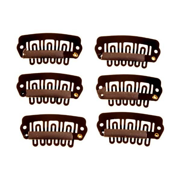 American Dream Hair Extensions Clips Brown