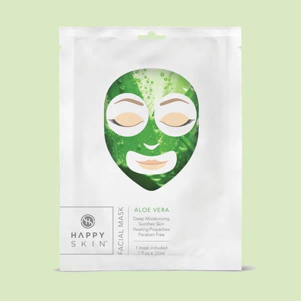 Happy Skin Facial Mask Aloe Vera