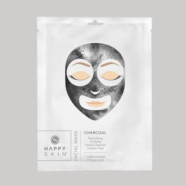 Happy Skin Facial Mask Charcoal
